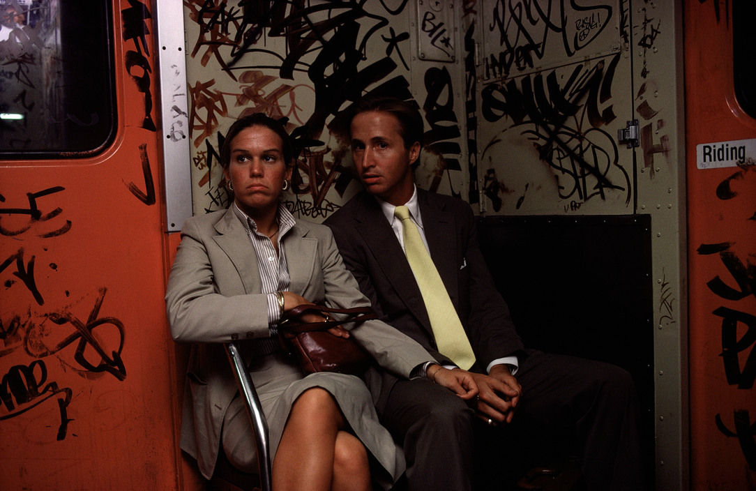 La gente en los transportes públicos - Eduardo A. Ponce - Photo
